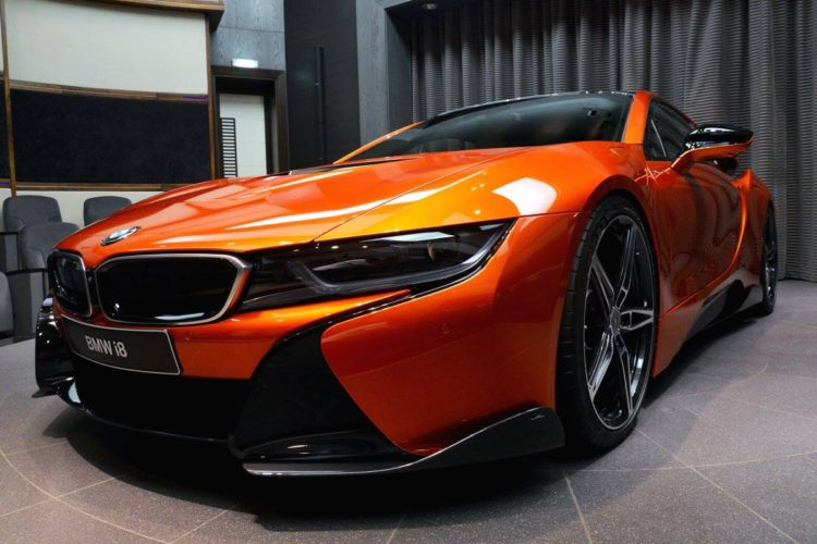 Ac Schnitzer Tuned Bmw I8 In Lava Orange Bmw Sg Bmw Singapore